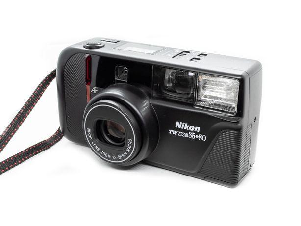 ТОП Nikon TW zoom 35-80 macro , пленочный/пленка, отличный. комплект!