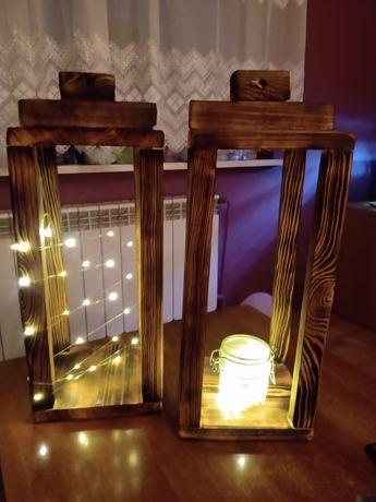 Lampion  z podświetleniem LED