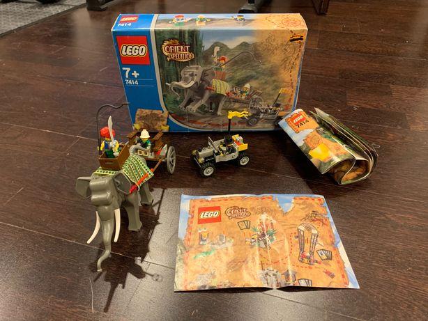 LEGO® 7414 Orient Expedition - Karawana słoni