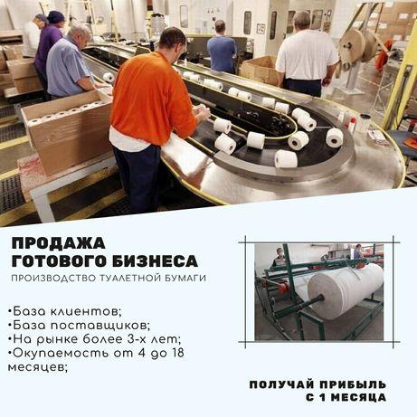 Производство туалетной бумаги. Готовый бизнес.