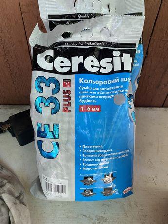 Затірка для плитки Сeresit CE-33 Plus сіра 5кг