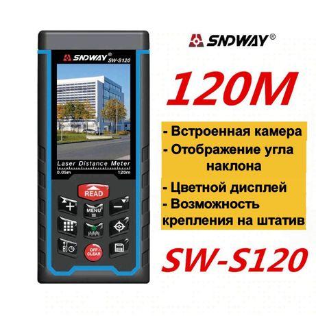SNDWAY SW-S120 Лазерный дальномер с Камерой рулетка 120 метров