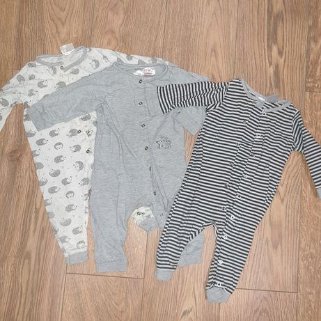 Piżamki h&m zestaw