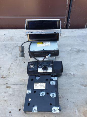 Navigacja mmi 3g+ audi a8 d4 komplet tuner TV tuner radio wyswietlacz