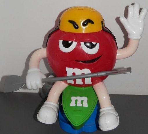 Dispensador M&M'S vermelho