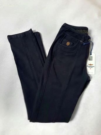 Aeronautica Militare jeansy damskie czarne za 299 zamiast 719 zł