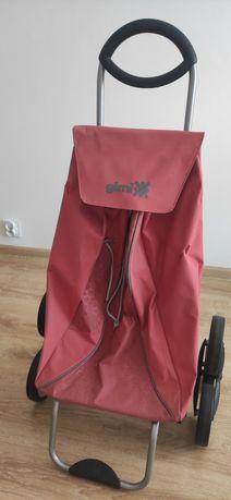 Wózek na zakupy firmy GIMI na kółkach