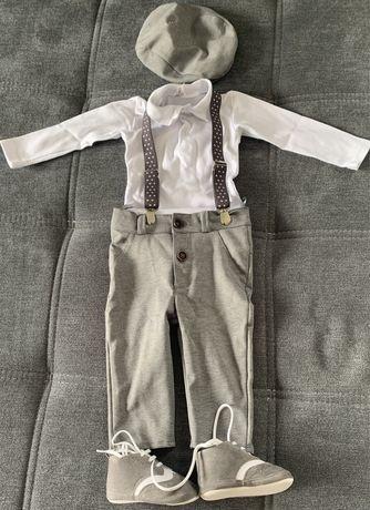 Zestaw , ubranko do chrztu 74 chłopiec