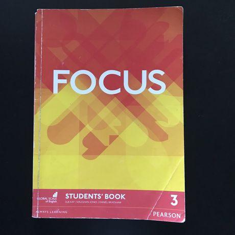 Focus 3, student's book + Workbook / Підручник + Зошит англійської мов