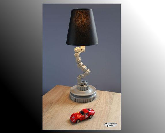 lampka nocna z auto części samochodowych, silnika, nie stolik V8 V12