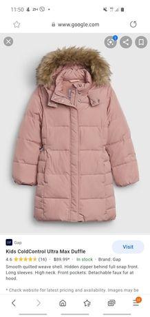 Куртка,пуховик Gap 2 года розовый zara mango