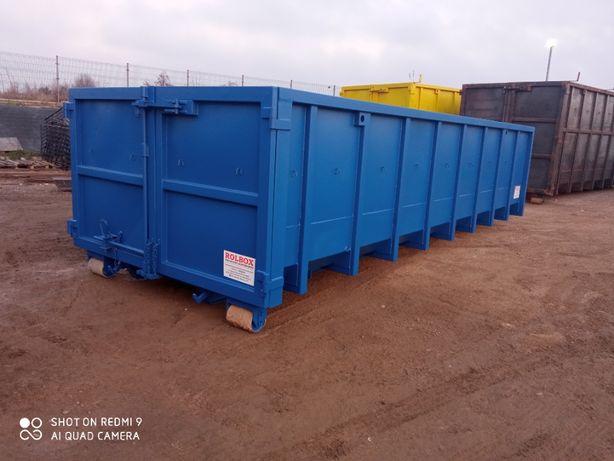 kontener hakowy 21m3, 4/3, gruz,złom,odpady producent Rolbox Jędrzejów
