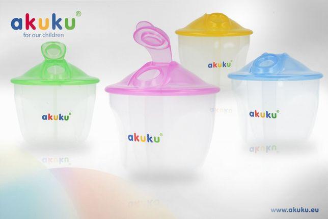 """Контейнер для сухого молока """"AKUKU"""" (Польща)."""