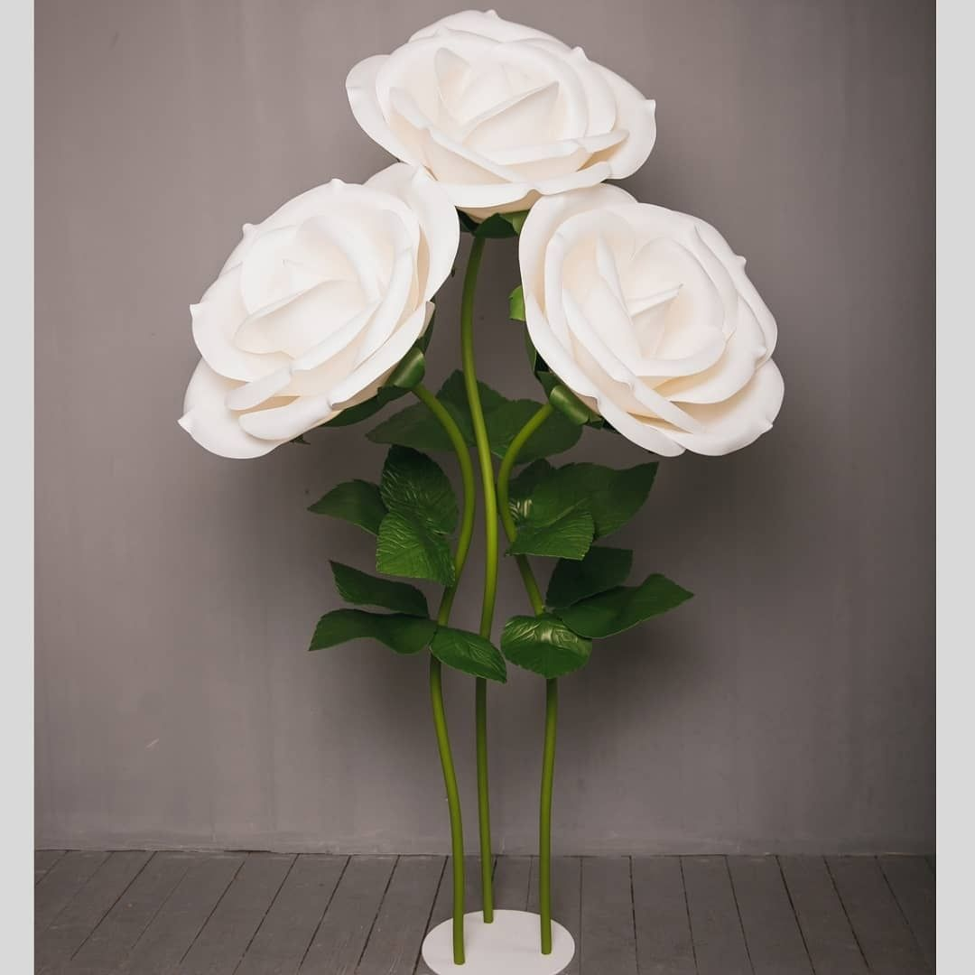 Квіти з ізолону під замовлення