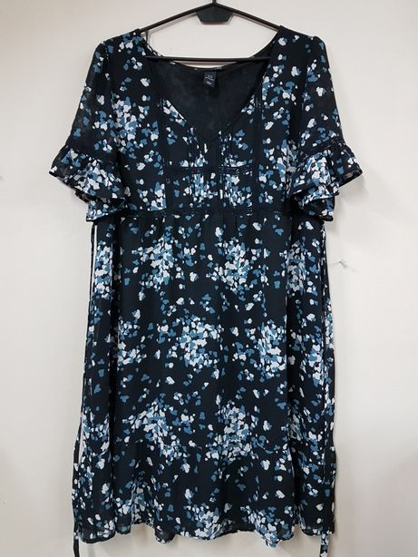 H&M zwiewna sukienka rozm 42/44