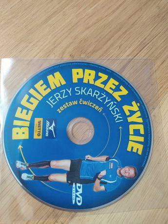 """""""Biegiem przez zycie"""" Jerzy Skarzynski- dvd"""