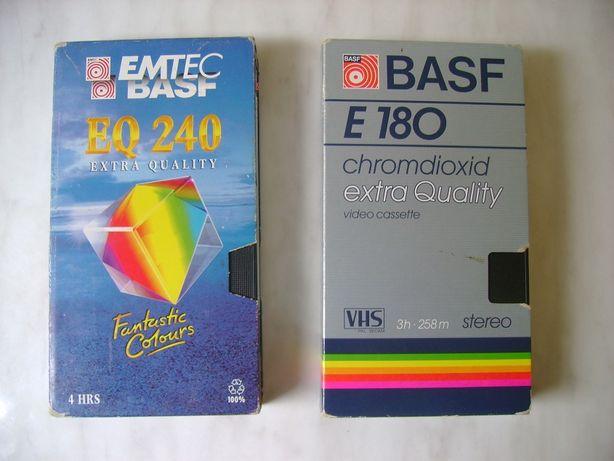 Kasety VHS Basf