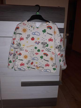 Zara bluza w pandy r 104