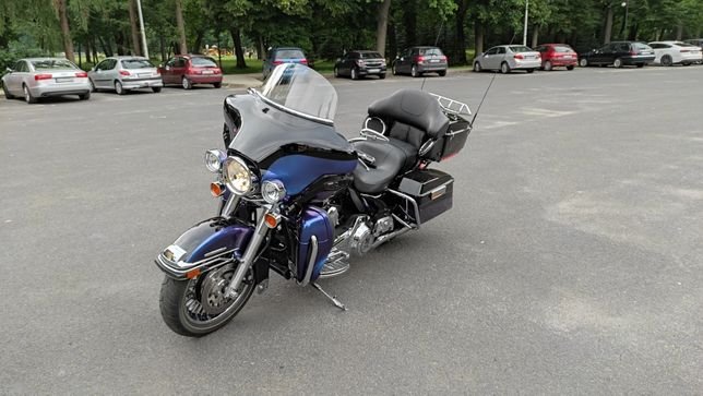 Harley Davidson Electra FLHTK Glide Ultra Limited 3390km Salon PL