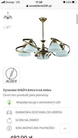 Żyrandol Retro II od Aldex