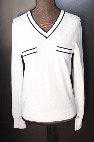 OCHNIK biała bluzka sweter 34 s liu jo levis guess kors solar monnari