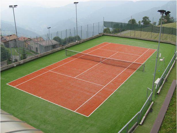 Korty tenisowe nawierzchnia kort boisko- sztuczna trawa ITF atestowane