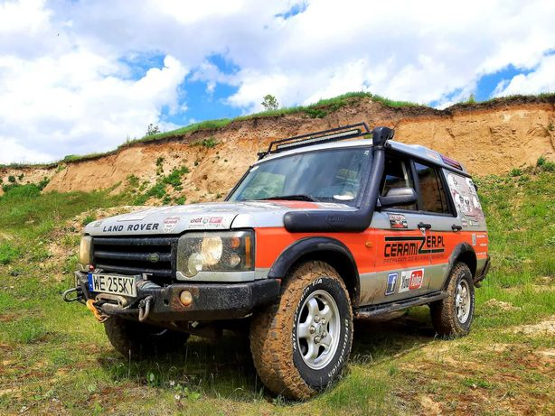 Land Rover Discovery 2.5D 2003 OFF ROAD wciągarka automat 4x4 snorkel!