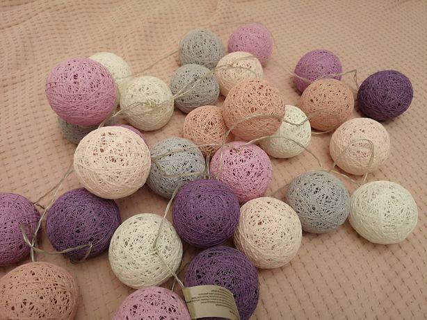 Piękne Cotton Ball pastelowe do pokoju dziecka