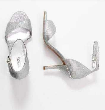 Buty, sandały na szpilce, ślubne, brokatowe Michael Kors