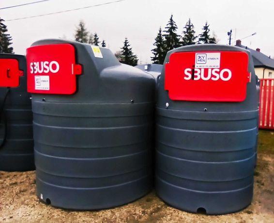 Zbiorniki na ropę ON dwupłaszczowy 1500l