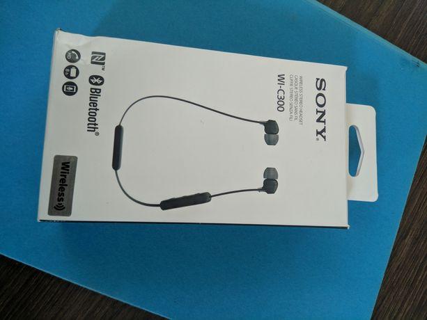 Słuchawki bezprzewodowe Sony WI-C300 nieużywane
