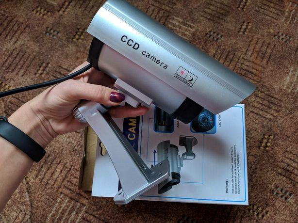Наружная камера видеонаблюдения муляж обманка камера Dummy IP camera