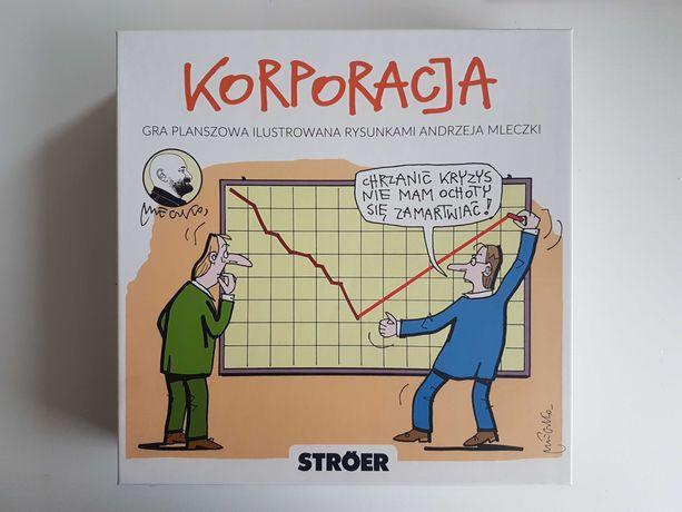 Korporacja – gra planszowa z ilustracjami Andrzeja Mleczki