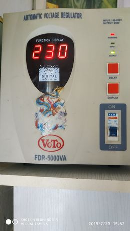 Стабилизатор тока релейный VOTO Польша 5 киловат-Оригинал
