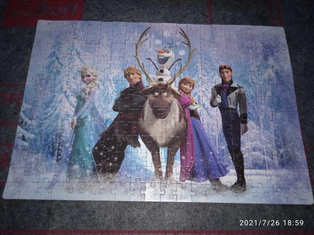 Пазлы Frozen Холодное сердце step puzzle, возраст 6+
