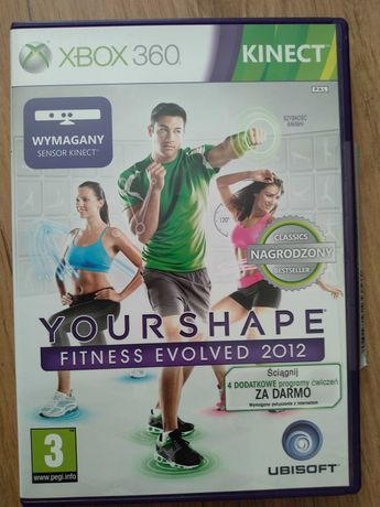 Gra Your Shape Fitness Evolved 2012 na Xbox 360