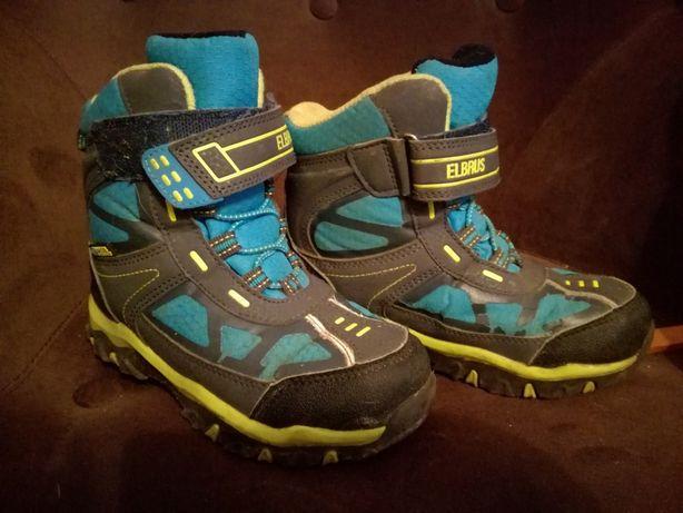 Buty zimowe Elbrus śniegowce chłopięce rozmiar 29