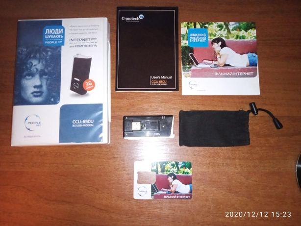 3G USB модем C-motech CCU-650U