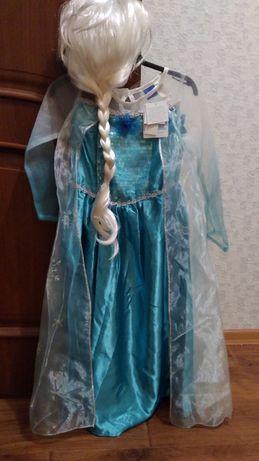 Карнавальный костюм Эльза снежинка