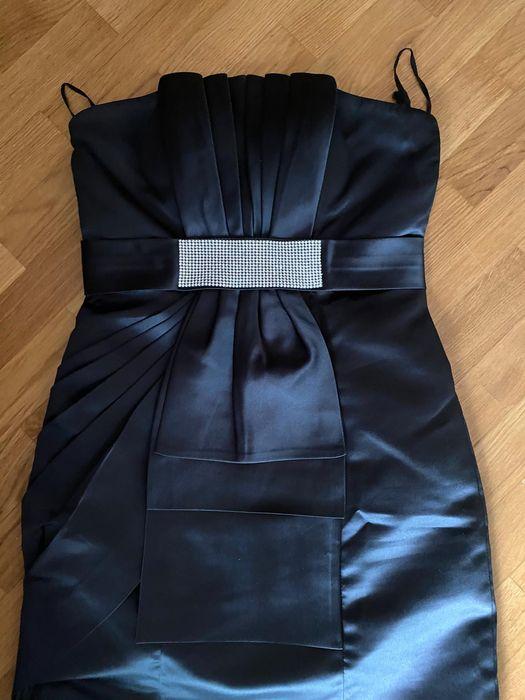 Vestido de cetim Santa Marinha E São Pedro Da Afurada - imagem 1