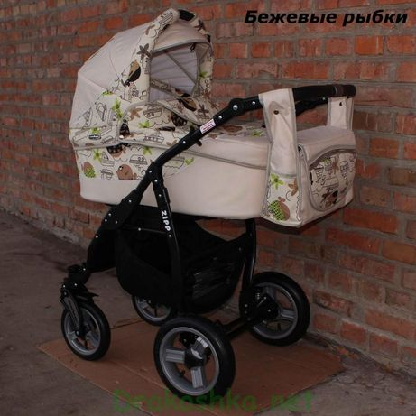 Детская коляска 2 в 1 Adbor Zipp идеальное состояние
