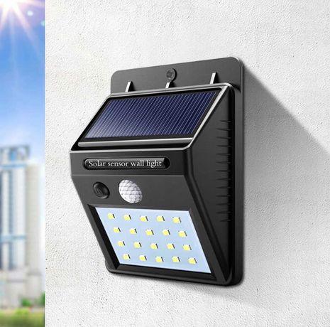 LAMPA SOLARNA 20LED z czujnikiem ruchu i zmierzchu