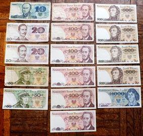 banknoty z prl