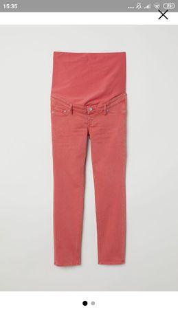H&M spodnie ciążowe 38 2019 kolekcja