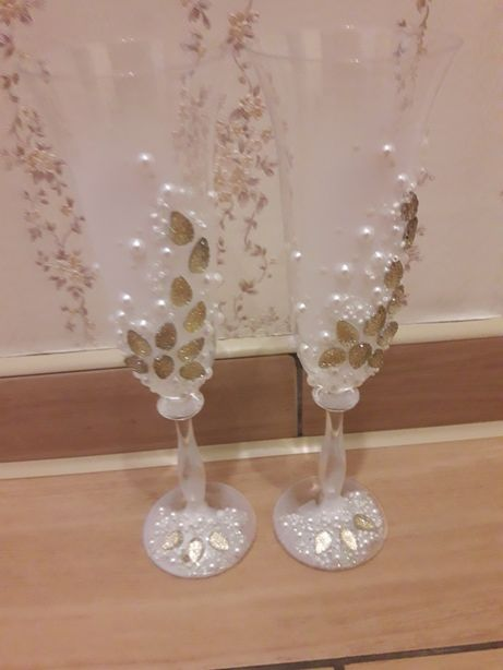 Свадебные бокалы 2шт