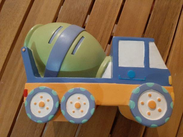 Mealheiro Infantil Camião em porcelana