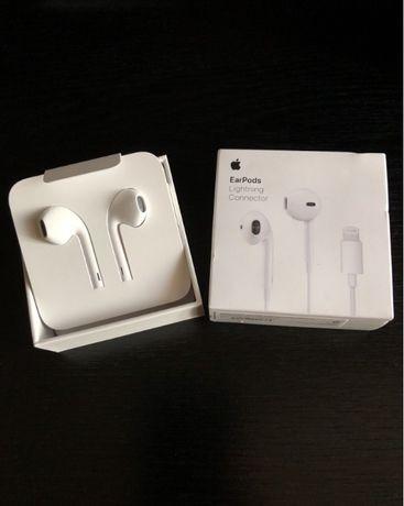 ОРИГИНАЛ Наушники Apple Earpods with Lightning лайтнинг для Iphone