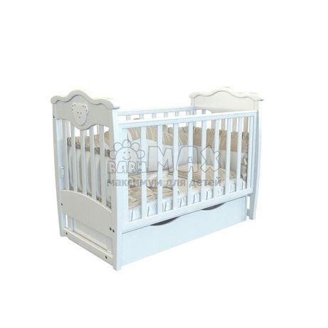 Детская кроватка Angelo со тразами