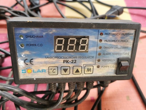 Mikroprocesorowy regulator PK-22 wentylator dmuchawa RV 14R