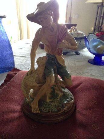 antiga estátua pastor